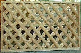 Diamond Trellis Panels Fan Trellis Panel Bingley Fencing And Timber Timber Fences