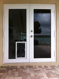 Full View Exterior Glass Door by Exterior Door With Dog Door Gallery Doors Design Ideas