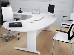 mobilier bureau design pas cher bureau design blanc laqu bureau design blanc et bois brook with