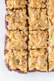german chocolate brownies sweet u0026 savory by shinee