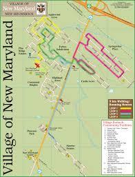 Maryland Map Village Map U2013 Village Of New Maryland