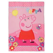 peppa pig 4 pc toddler bed pink target
