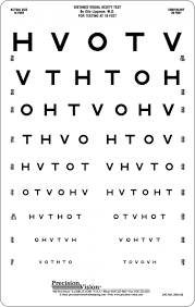3 meter 10 ft high contrast eye charts archives precision vision