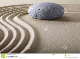 zen garden meditation stone background royalty free stock images