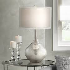 possini euro design swift modern mercury glass table lamp