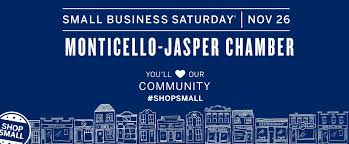 small business saturday jasper county chamber of commerce
