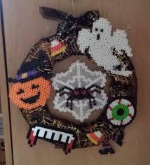 Halloween Perler Bead Templates by Halloween Wreath Perler Beads By Joanne Schiavoni Perler