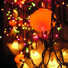 halloween lights and ornaments pictures photos and images for
