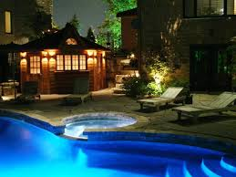 Pool Landscape Lighting Ideas by Backyard Lighting Ideas To Beautify Your Outdoor U2014 Luxury Homes