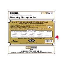 pioneer album refills pioneer 8 x 8 album refills craftrange buy craft supplies
