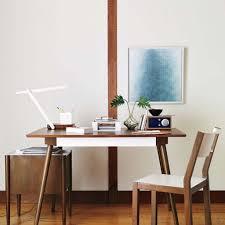 home office desk design custom office minimalist white laptop