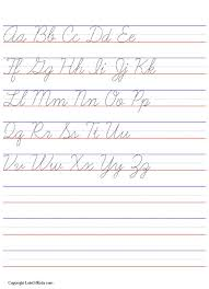 cursive writing worksheet maker free worksheets library download