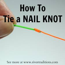how to tie a nail knot using a nail knot tool river traditions