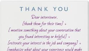 write in a thank you note after an interview curtis haggard mpa