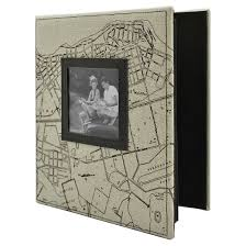 photo album magnetic pages map photo album holds two 4 x6 photos per page target