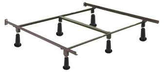 amazon com high rise metal bed frame with headboard brackets