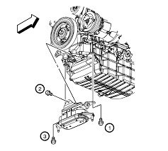 repair instructions on vehicle engine mount replacement 2006