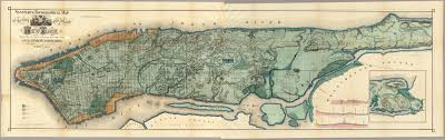 Overview Map Of New York City by Captured Streams And Springs In Combined Sewers A Review Of The