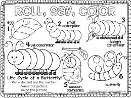 very hungry caterpillar sequencing worksheet very hungry