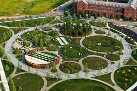 landscape design photos philadelphia navy yards james corner field operations archdaily
