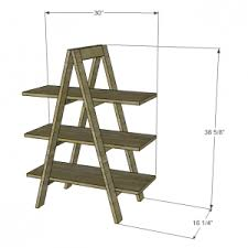 How To Build Bookshelves Interesting How To Build A Ladder Bookshelf Pics Decoration