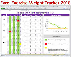 weight loss planner template excel fitness weight loss tracker template for year 2018 exercise log weight loss plan year 2018