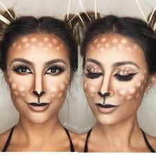 pretty deer makeup dyf halloween pinterest deer makeup