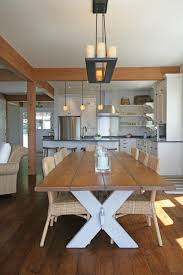 amazing picnic style dining table all dining room