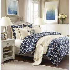 Navy Blue Bedding Set Navy Blue Lattice Comforter Set
