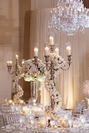 wedding candelabra centerpieces dress up a candelabra centerpiece with a garland of flowers