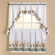 Walmart Kitchen Curtains by Superb Sunflower Kitchen Curtains 116 Sunflower Kitchen Curtains