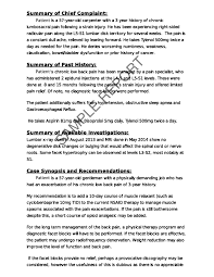 sample management reports sample reports orthopedic sample report click