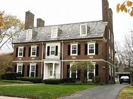 home brick colors french colonial style homes colonial revival