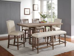 Counter Height Upholstered Chairs Xcalibur Pedestal Dining Set Dxpedset Dining Sets From Winners