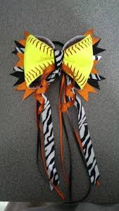 softball hair bows black and blue black and blue it softball hair bow