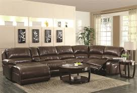 living room vg sectional sofas with recliners leather high