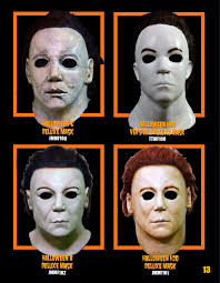 michael myers 2017 h6 8 masks from trick or treat studios