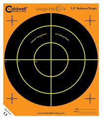 amazon com caldwell orange peel 5 5 inch splatter target 10 pack