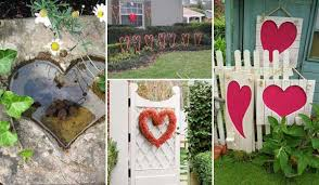 outdoor decoration ideas outdoor decorating ideas with hearts for this valentines day