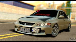 jdm mitsubishi evo mitsubishi lancer evolution ix jdm for gta san andreas
