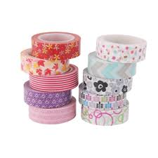 washi tape diy imported 10pcs 10m colorful washi tape diy adhesive paper sticker