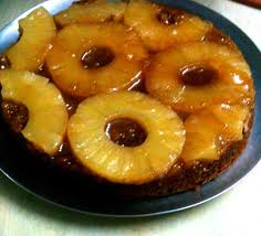 eggless upside down pineapple cake pressure cooker style u2013 meal