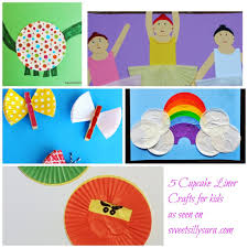 infant activity u0026 cupcake liner crafts in the wonderful wednesday