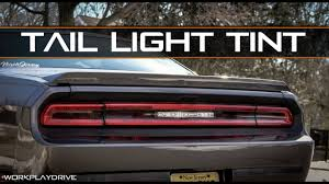 tail light tint installation luxe auto concepts 2008 2014 dodge challenger tail light tint kit