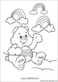 283 care bears coloring pages images care