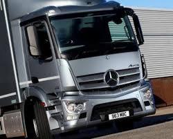 mercedes truck dealers uk enza truck sets up service depot commercial motor
