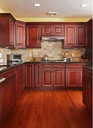 Kitchen Cherry Cabinets Rutt Cabinetry Cherry Kitchen The 7 Drw Cabinet Below The Window