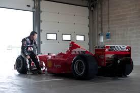 michael jordan ferrari michael schumacher u0027s ferrari f1 car driven evo