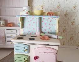 miniature dollhouse kitchen furniture dollhouse kitchen etsy