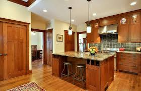 Transitional Island Lighting Craftsman Style Kitchen Island Kitchen Transitional With French